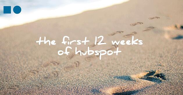 Ebook 12 First Weeks on HubSpot