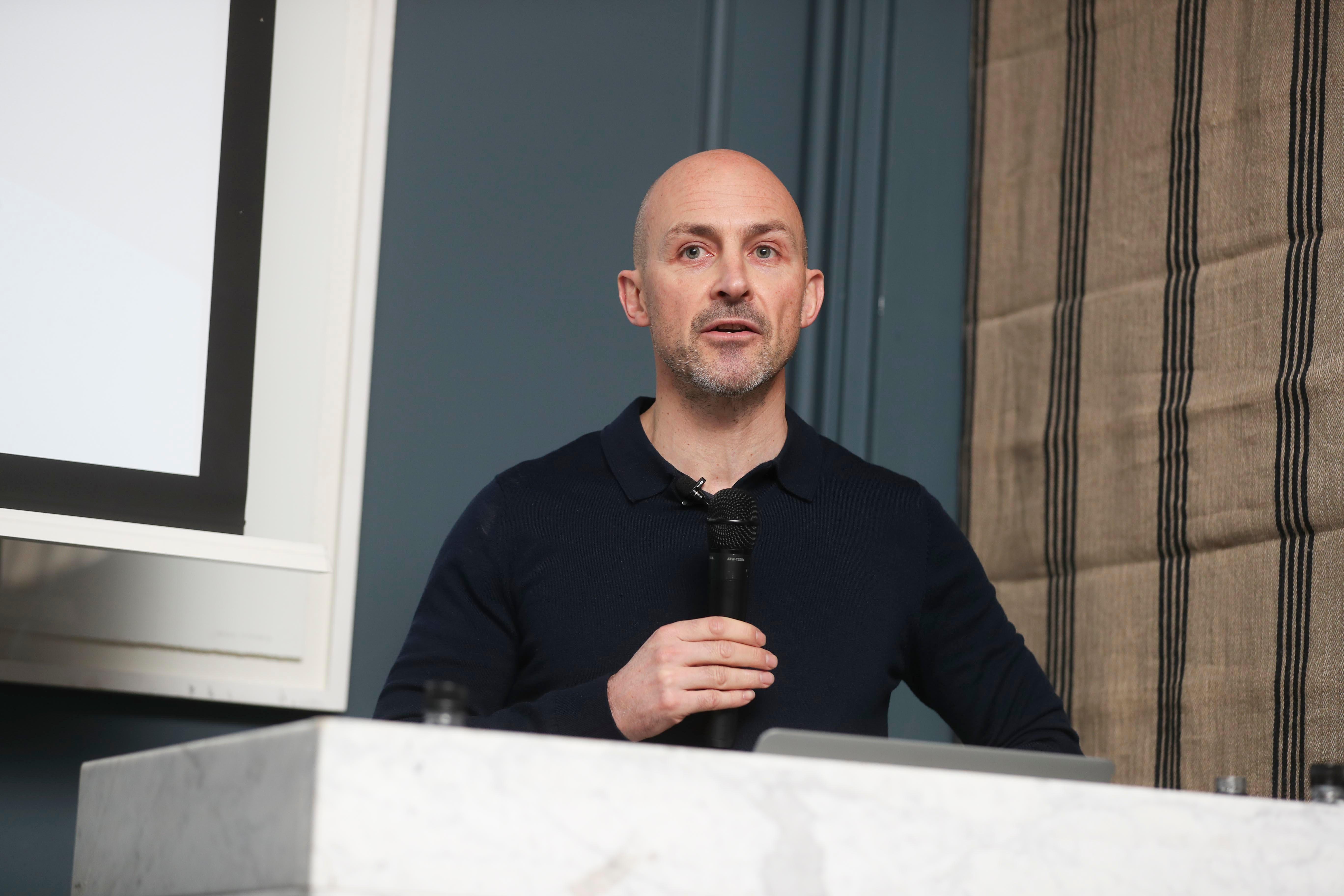 Ian Blake, MD of Squaredot