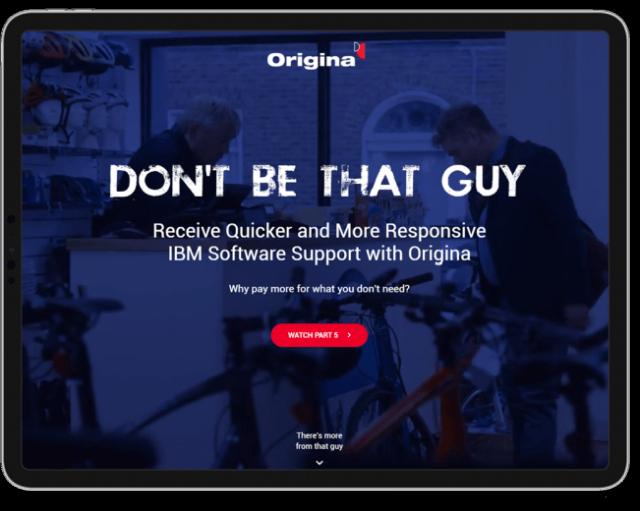 Origina Work - iPad