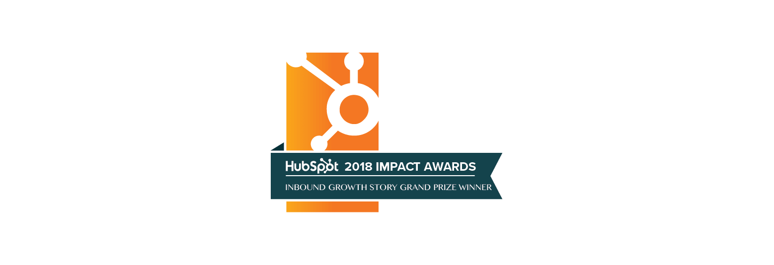 International Inbound Growth Story Grand Prize Winner: 2018 Hubspot Impact Awards