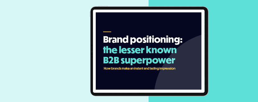 B2B Positioning | Marketing strategy | Squaredot
